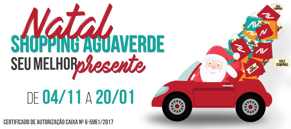 Natal Shopping AguaVerde - Seu melhor presente