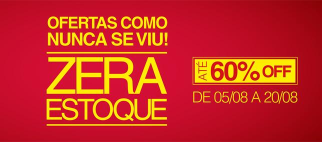 Shopping AguaVerde promove liquidação Zera Estoque