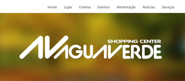 Novo site do Shopping AguaVerde está no ar