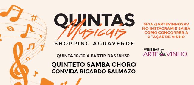 Quintas Musicais - 10/10/2019