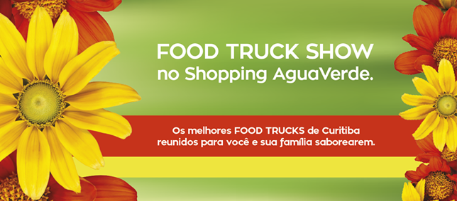 Shopping AguaVerde promove Food Truck Show