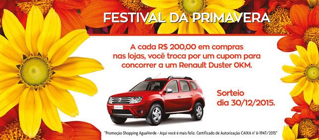 Shopping sorteia um Renault Duster zero quilômetro; participe!