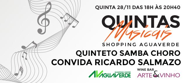 Quintas Musicais - 28/11/2019