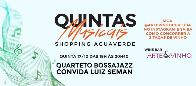 Quintas Musicais - 17/10/2019