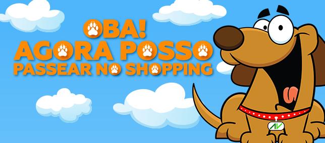 Shopping AguaVerde é Pet Friendly