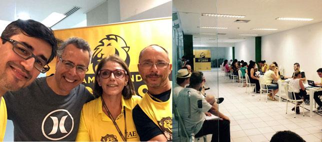 Projeto Amansando o Leão atende quase 200 pessoas no Shopping AguaVerde