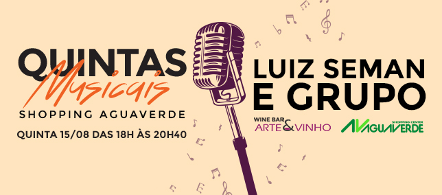 Quintas Musicais - 15/08/2019