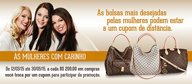 Shopping AguaVerde sorteia as bolsas mais desejadas pelas mulheres