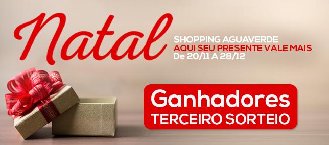 Natal Shopping AguaVerde - 3º Sorteio