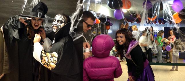 Halloween no AguaVerde faz sucesso com a criançada