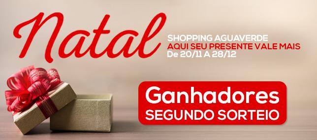 Natal Shopping AguaVerde - 2º Sorteio