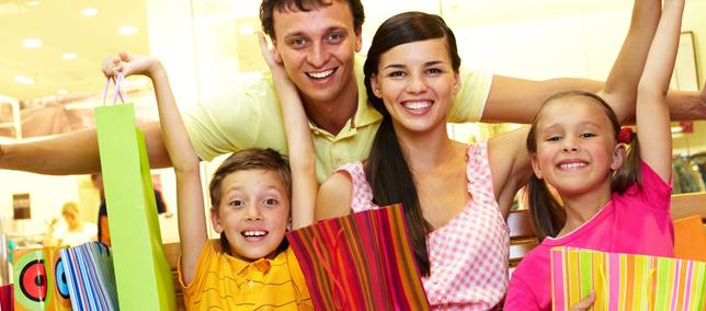 Shopping para toda a família