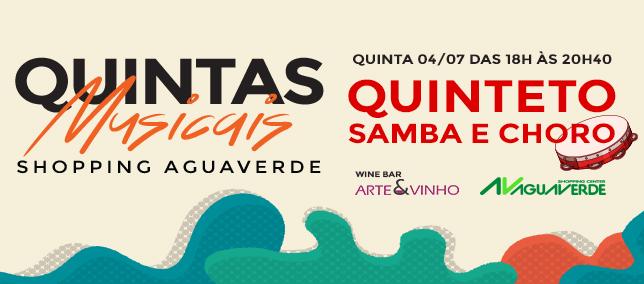 Quintas Musicais - 04/07/2019